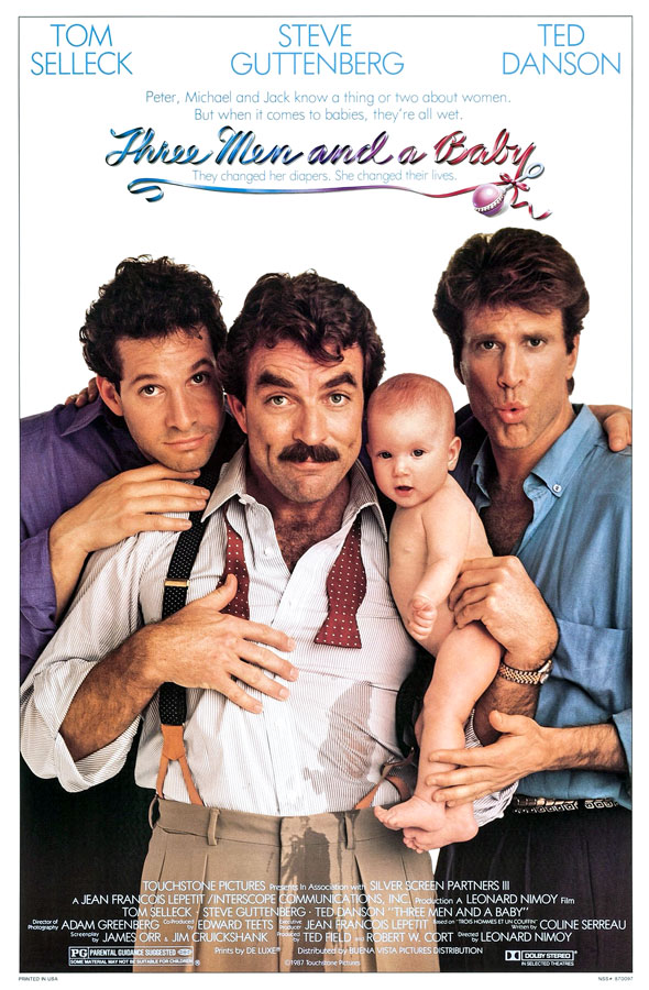 Three Men and a Baby (Leonard Nimoy, 1987)