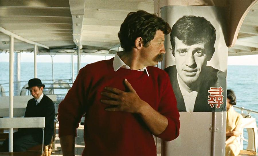 Jean Rochefort et Jean-Paul Belmondo dans Les Tribulations d'un Chinois en Chine (Philippe de Broca, 1965) - © TF1 droits Audiovisuels