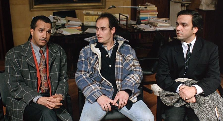 Pascal Légitimus, Bernard Campan et Didier Bourdon dans Les Trois frères (Didier Bourdon et Bernard Campan, 1995) - © Pathé