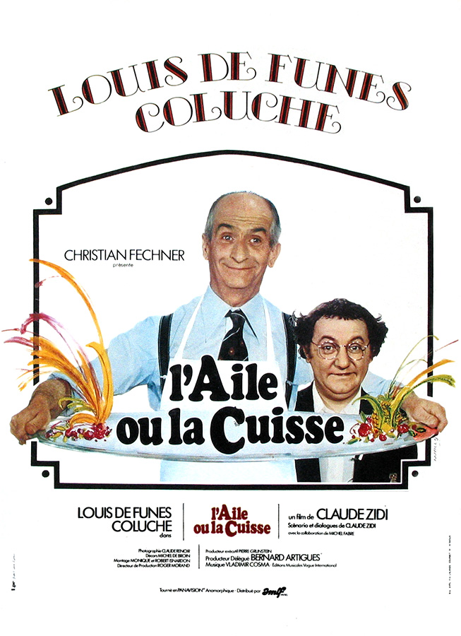L'Aile ou la cuisse (Claude Zidi, 1976)