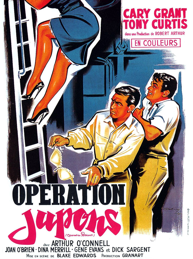 Opération jupons (Operation Petticoat) de Blake Edwards (1959)