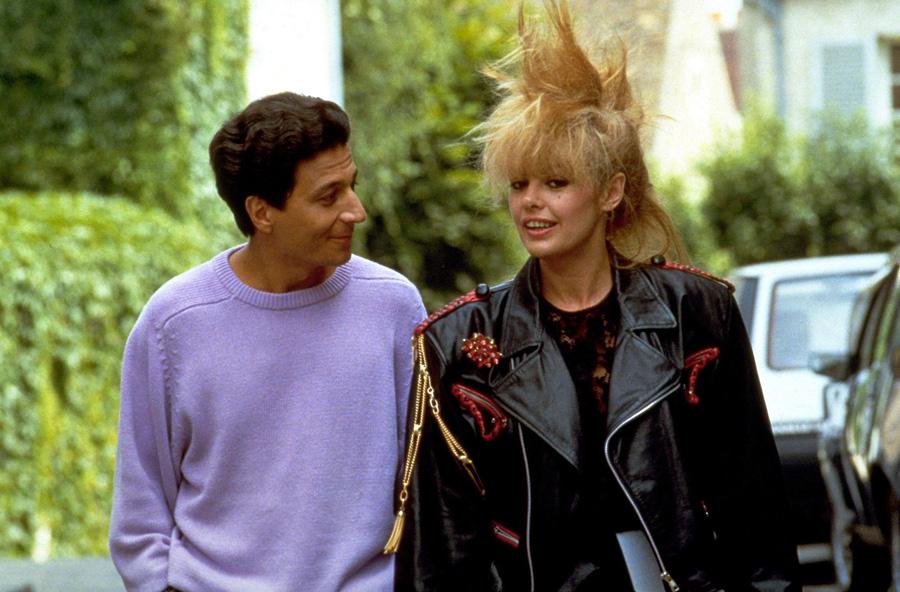 Christian Clavier et Louise Portal dans Mes meilleurs copains (Jean-Marie Poiré, 1989)
