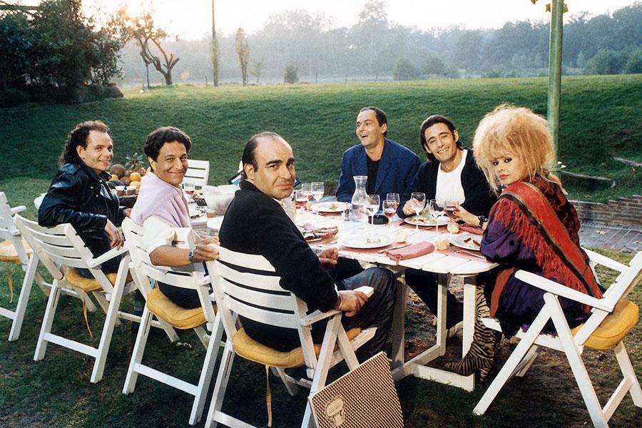 Casting de Mes meilleurs copains (Jean-Marie Poiré, 1989)