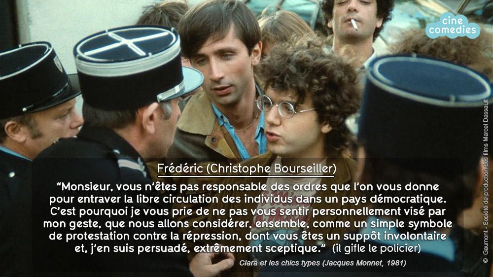 Réplique de Jean-Loup Dabadie - Clara et les chics types (Jacques Monnet, 1981)