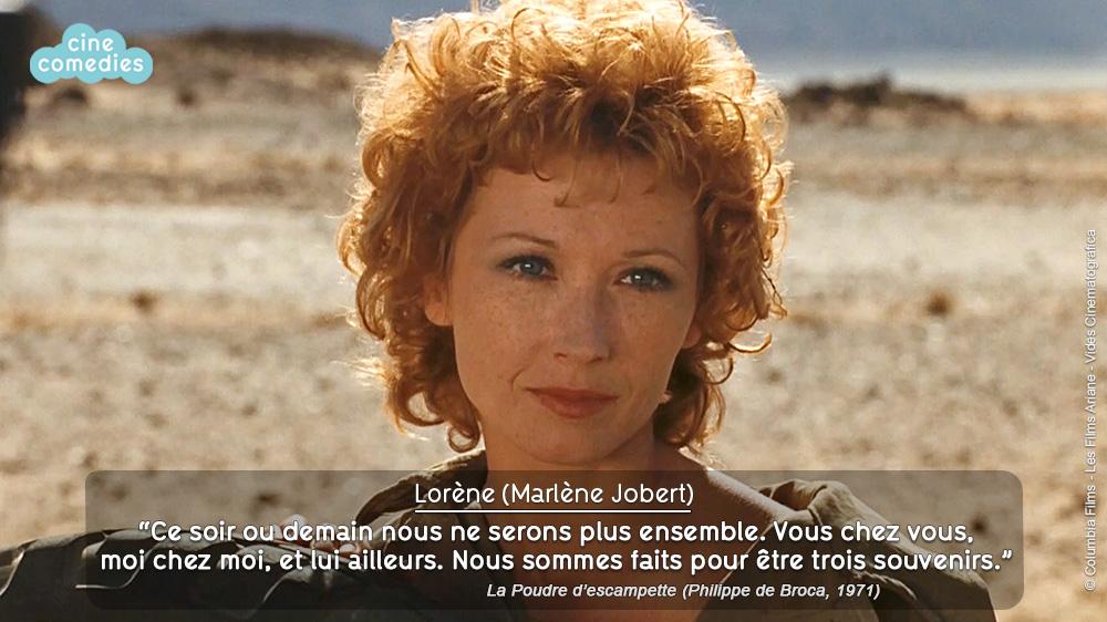 Réplique de Jean-Loup Dabadie - La Poudre d'escampette (Philippe de Broca, 1971)