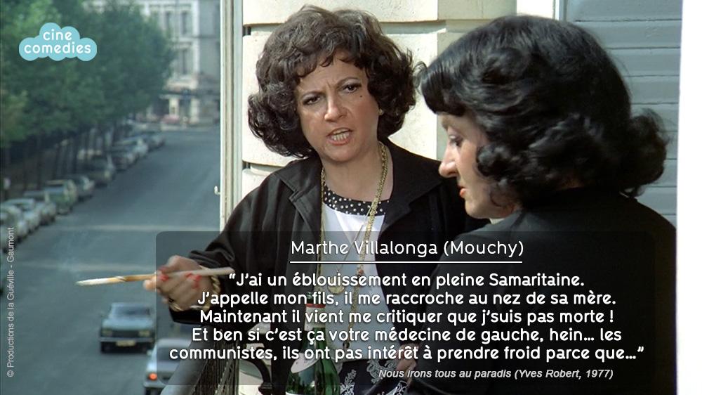 Réplique de Jean-Loup Dabadie - Nous irons tous au paradis (Yves Robert, 1977)
