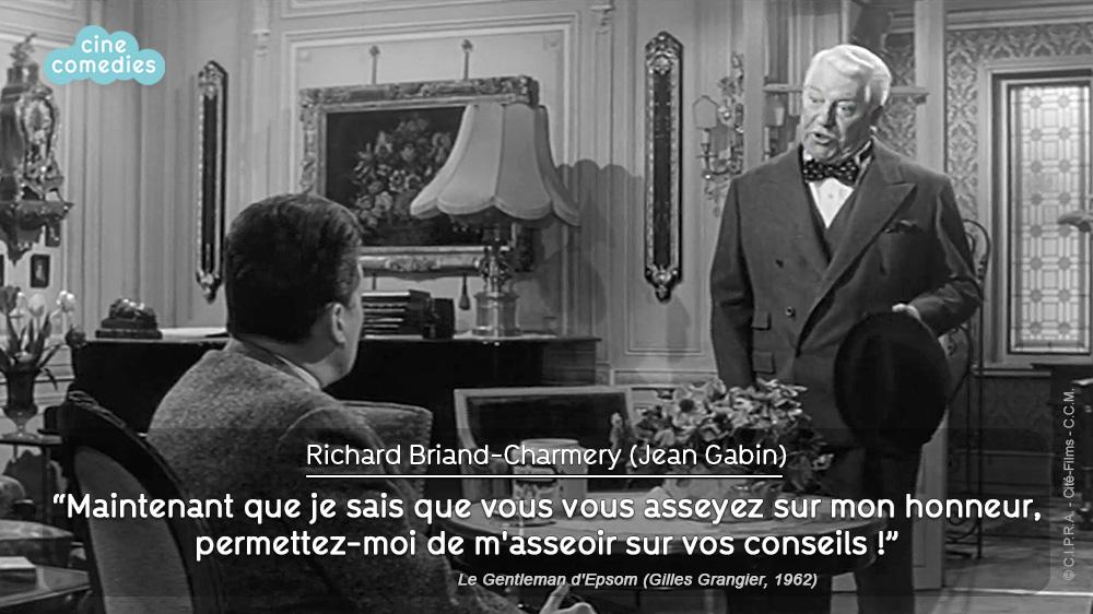 Réplique de Michel Audiard - Le Gentleman d'Epsom (Gilles Grangier, 1962)