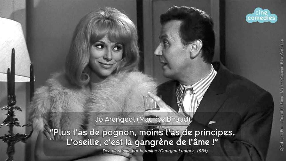 Réplique de Michel Audiard - Des pissenlits par la racine (Georges Lautner, 1964)