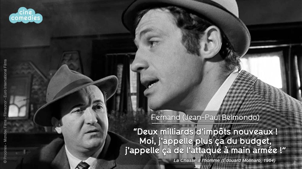 Réplique de Michel Audiard - La Chasse à l'homme (Édouard Molinaro, 1964)