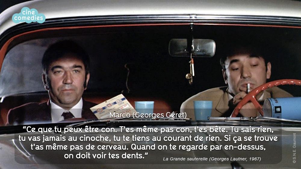 Réplique de Michel Audiard - La Grande sauterelle (Georges Lautner, 1967)