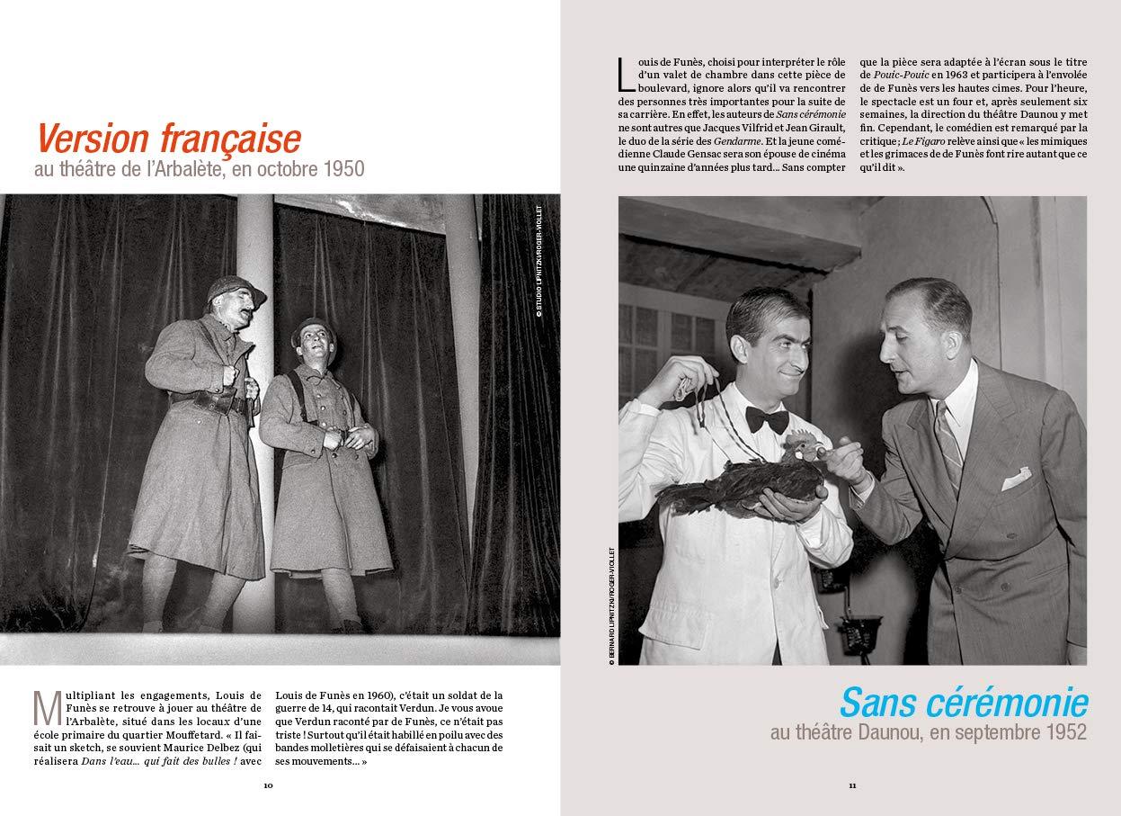 Louis de Funes à Paris de Philippe Lombard (Parigramme) - pages 10-11