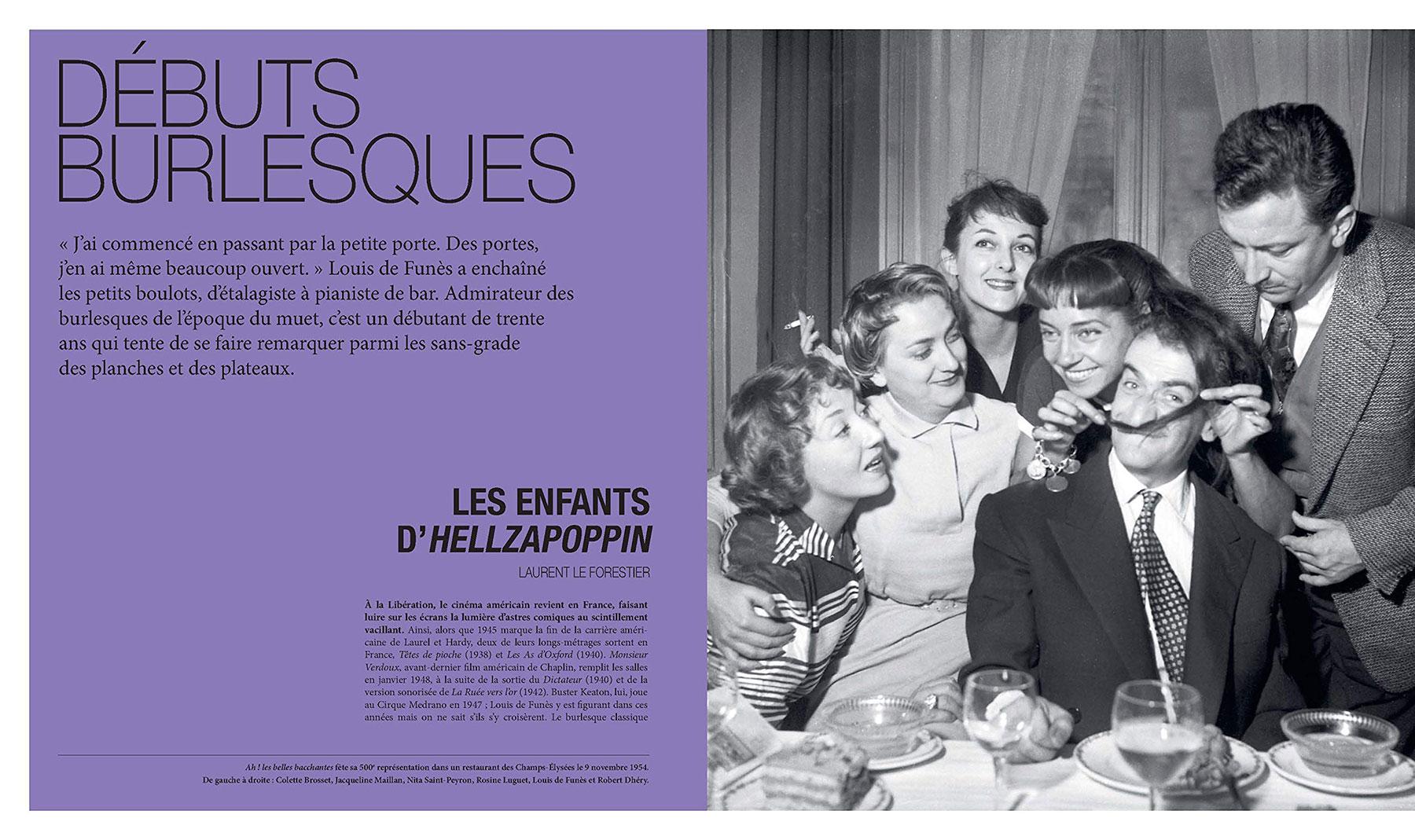 Louis de Funès, à la folie - sous la direction d'Alain Kruger (La Cinémathèque française/Éditions de La Martinière) - pages 14-15