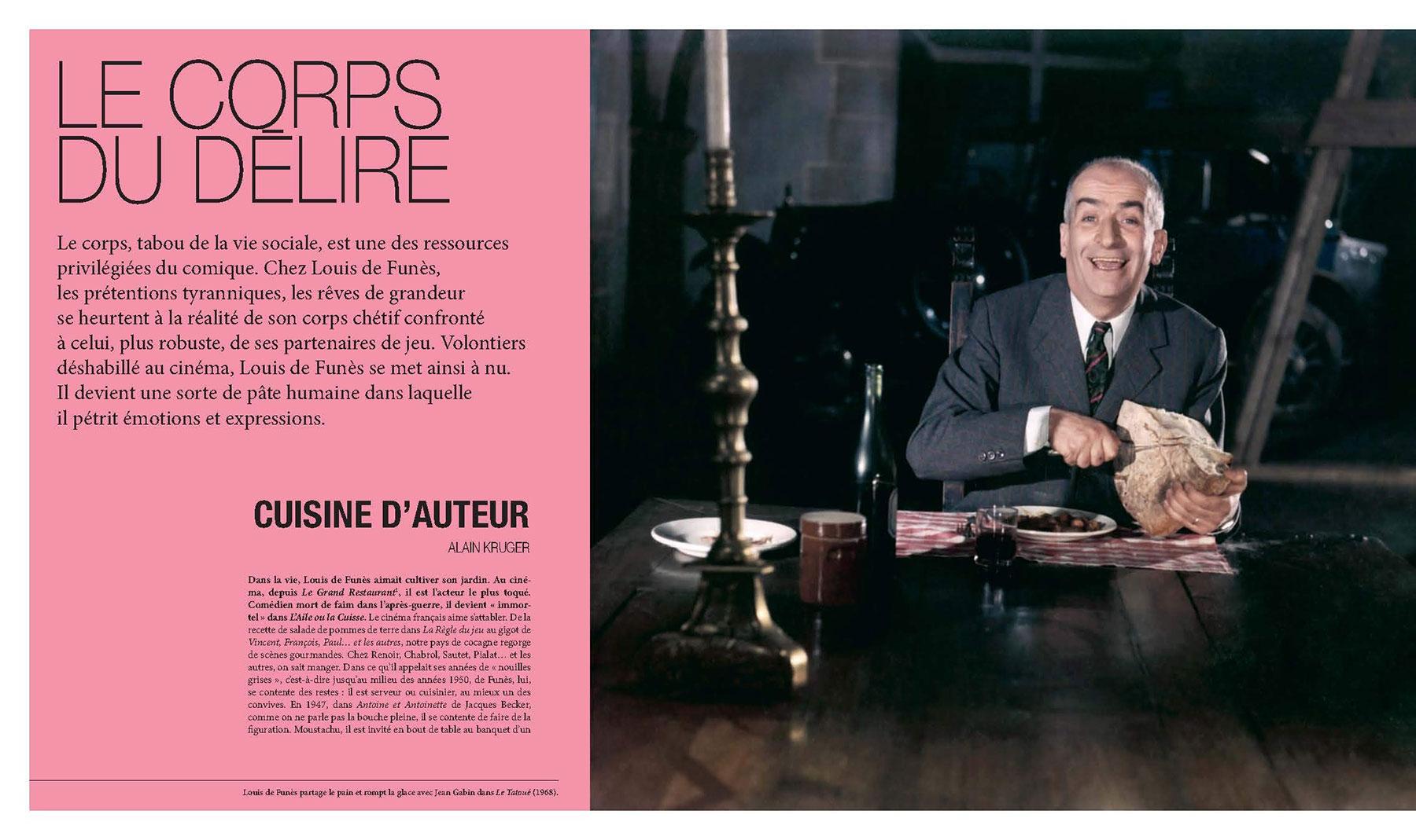 Louis de Funès, à la folie - sous la direction d'Alain Kruger (La Cinémathèque française/Éditions de La Martinière) - pages 162-163