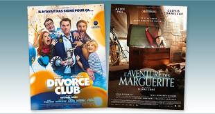 sorties Comédie du 14 juillet 2020 : Divorce club, L'Aventure des Marguerite