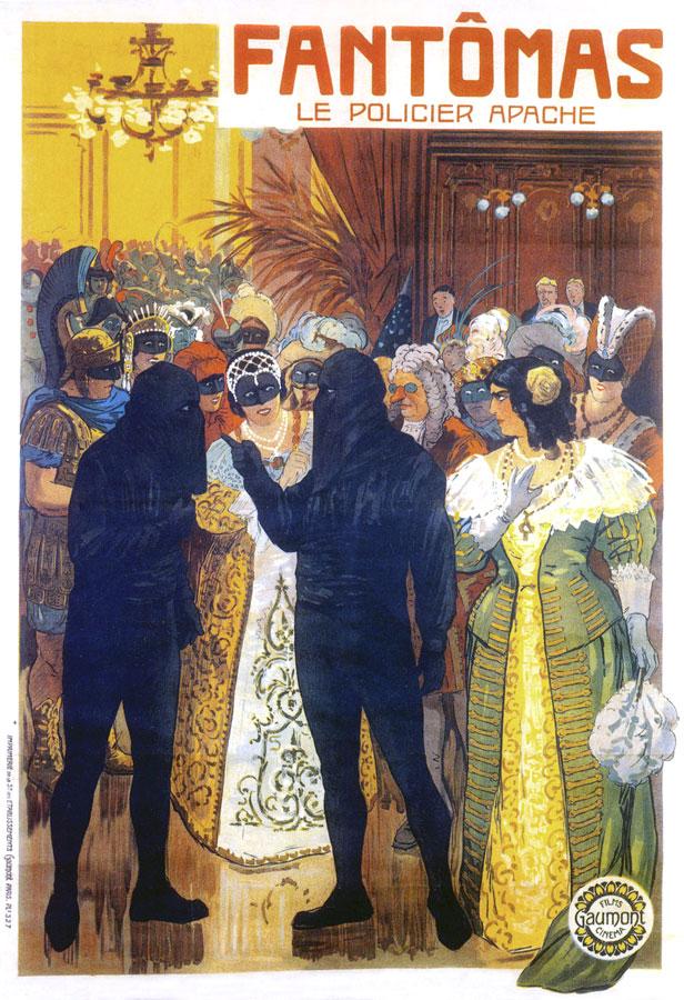 Fantômas - Le Policier apache de Louis Feuillade (1914) - © Gaumont