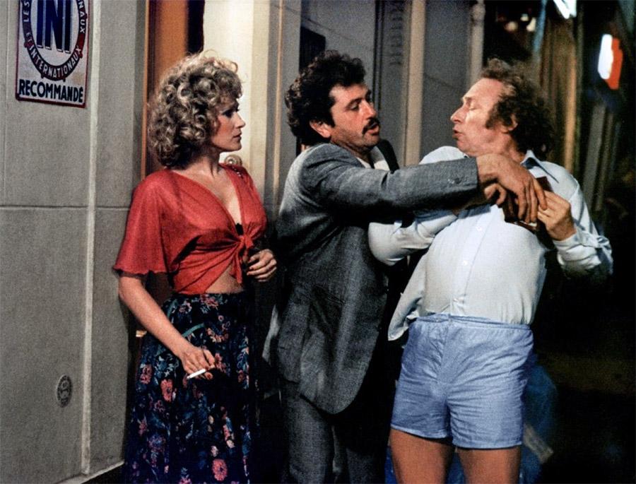 Katia Tchenko, Victor Lanoux et Pierre Richard dans La Carapate (Gérard Oury, 1978)