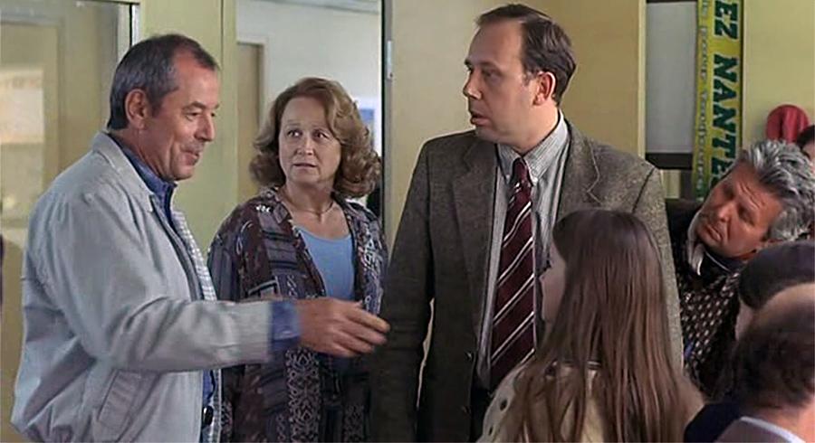 Christian Morin, Katia Tchenko et Olivier Gourmet dans Mercredi, folle journée ! (Pascal Thomas, 2001)