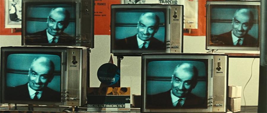 Louis de Funès dans Fantômas (André Hunebelle, 1964) - © Gaumont