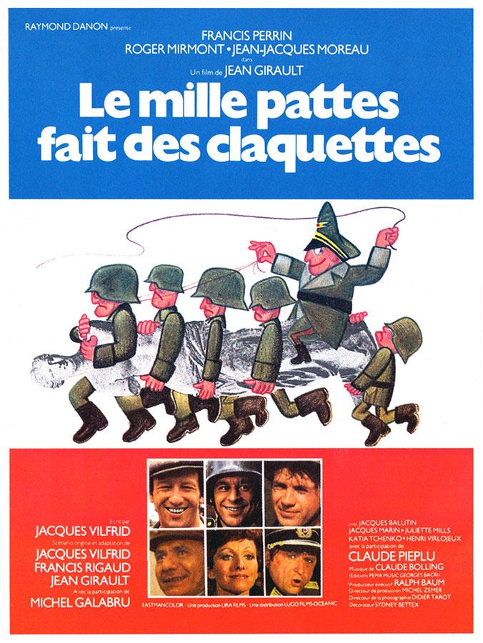 Le Mille pattes fait des claquettes (Jean Girault, 1977)