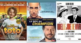 sorties Comédie du 5 août 2020 : Les Blagues de Toto, Le Défi du champion (Il Campione), Quelle joie de vivre (Que gioia vivere, 1961)