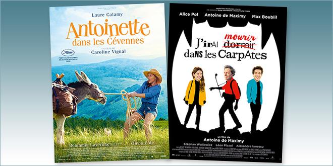 sorties Comédie du 16 septembre 2020 : Antoinette dans les Cévennes, J'irai mourir dans les Carpates