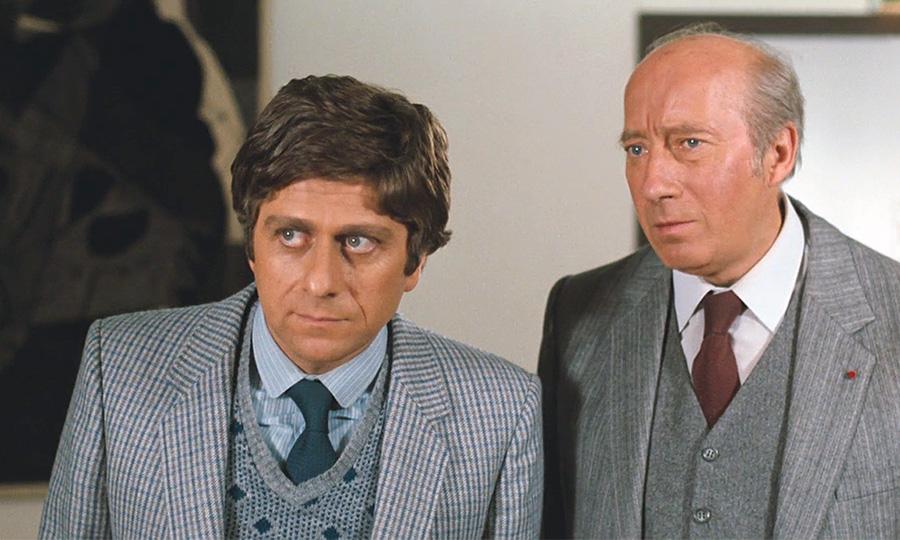André Valardy et Michel Robin dans La Chèvre (Francis Veber, 1981) - © Gaumont