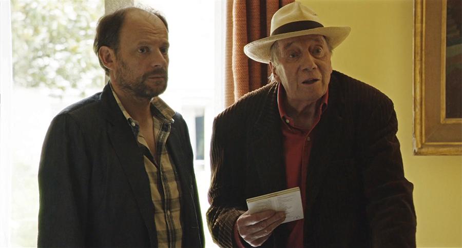 Denis Podalydès et Michel Robin dans Adieu Berthe (Bruno Podalydès, 2012) - © UGC