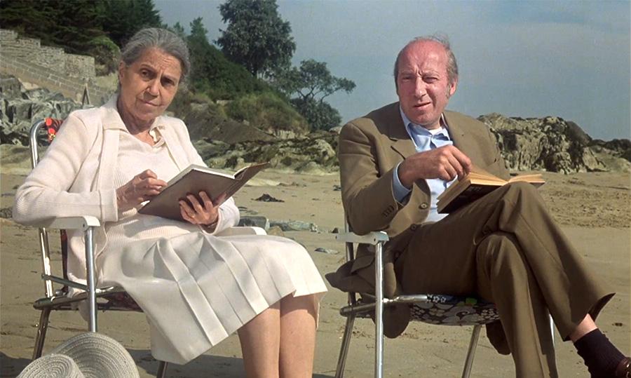 Germaine Delbat et Michel Robin dans L'Hôtel de la plage (Michel Lang, 1978) - © Gaumont