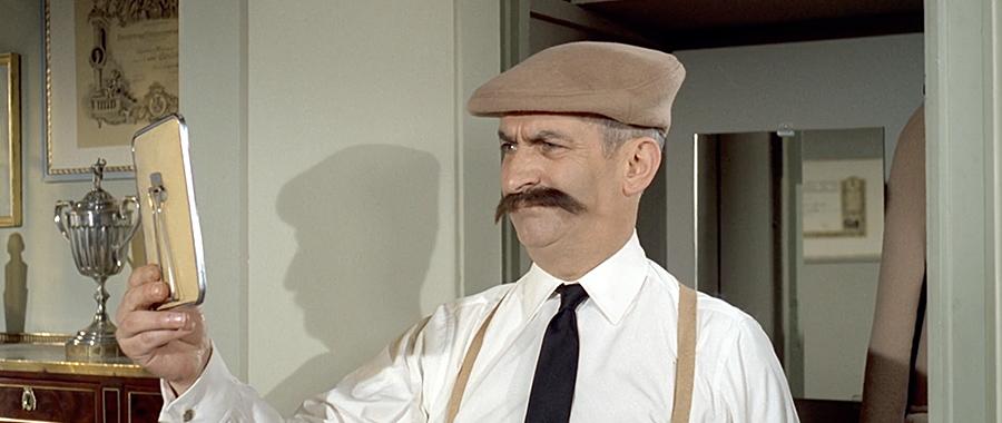 Louis de Funès dans Le Grand restaurant (Jacques Besnard, 1966) - © Gaumont