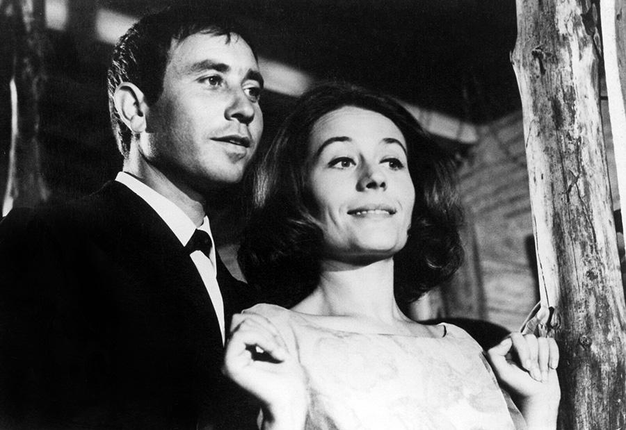 Philippe Clair et Annie Girardot dans Déclic et des claques (Philippe Clair, 1965) - © Collection personnelle Philippe Clair