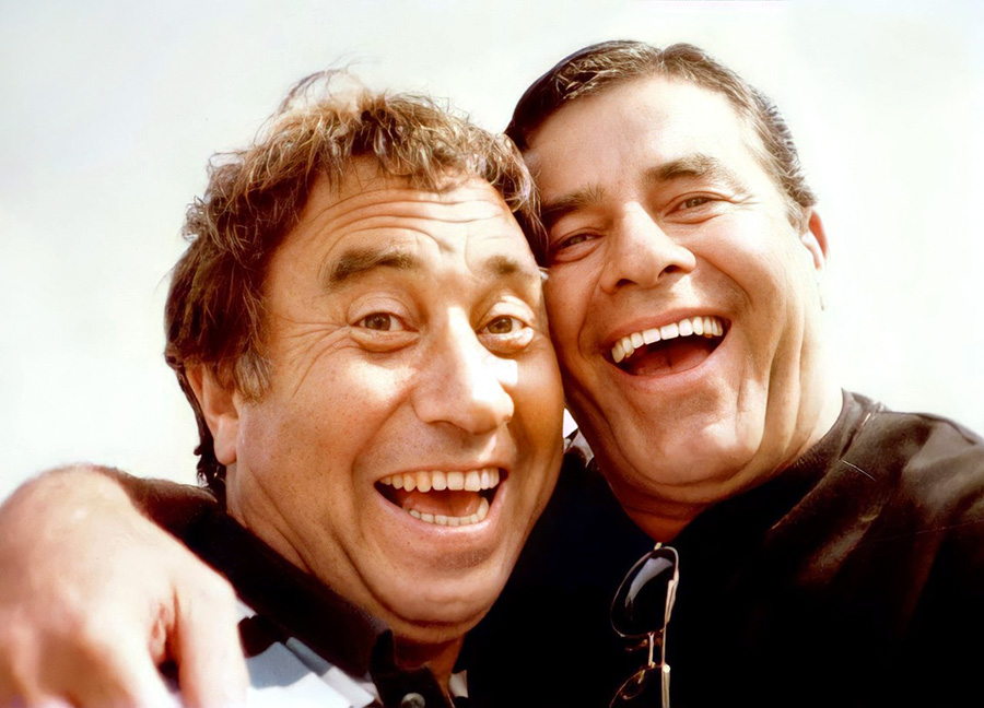 Philippe Clair et Jerry Lewis - © Collection personnelle Philippe Clair