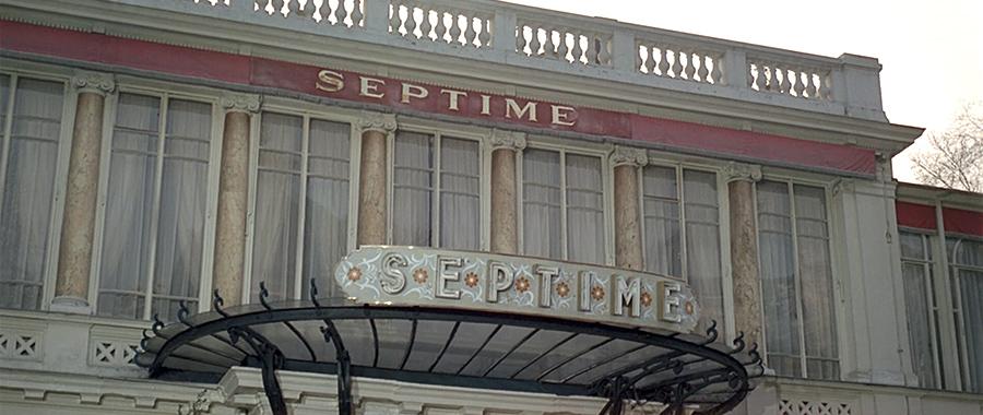 Le restaurant Septime dans Le Grand restaurant (Jacques Besnard, 1966) - © Gaumont