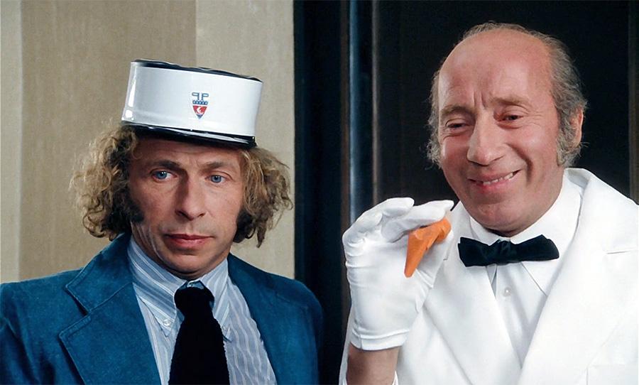 ierre Richard et Michel Robin dans Le Jouet (Francis Veber, 1976) - © Pathé