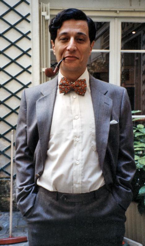Christian Clavier durant les essais de L'Opération Corned Beef (Jean-Marie Poiré, 1991) - © Collection Jean-Marie Poiré