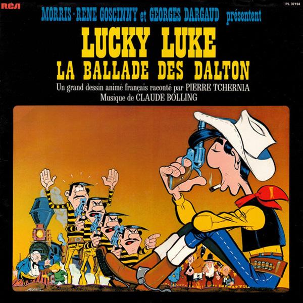 La Ballade des Dalton (René Goscinny, Henri Gruel, Morris, Pierre Watrin, 1978) - Musique de Claude Bolling