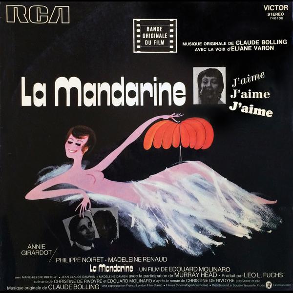 La Mandarine (Édouard Molinaro, 1972) - Musique de Claude Bolling