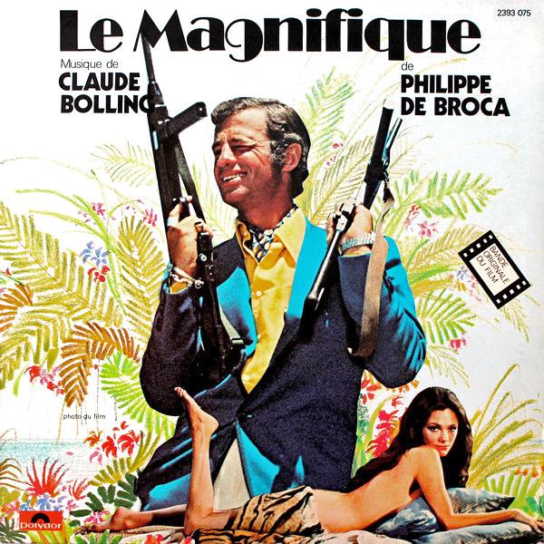Le Magnifique (Philippe de Broca, 1973) - Musique de Claude Bolling