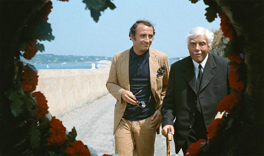 Claude Brasseur et Michel Serrault dans Le Viager (Pierre Tchernia, 1972) - DR