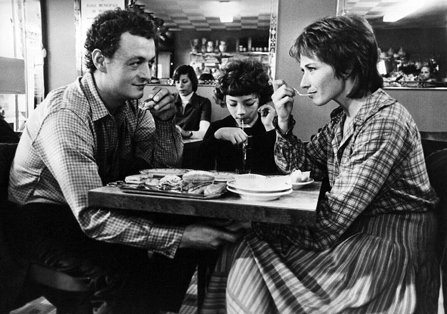 Philippe Léotard, Vladimir Andres et Marlène Jobert dans Va voir maman, papa travaille (François Leterrier, 1978) - DR