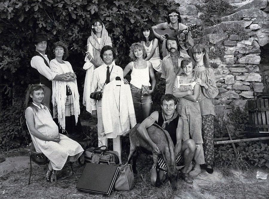 Casting du film Les Babas cool (François Leterrier, 1981) - DR