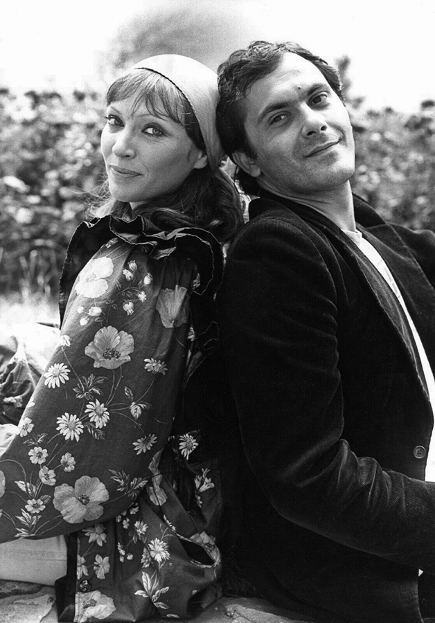 Jean-Pierre Bacri et Anna Karina dans L'Éblouissement (Jean-Paul Carrère, 1979) - DR