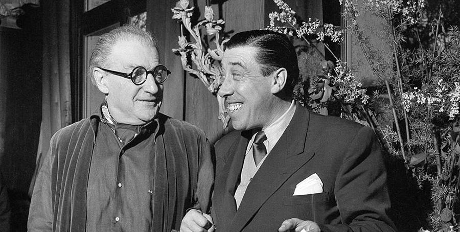 Fernandel et Sacha Guitry - DR