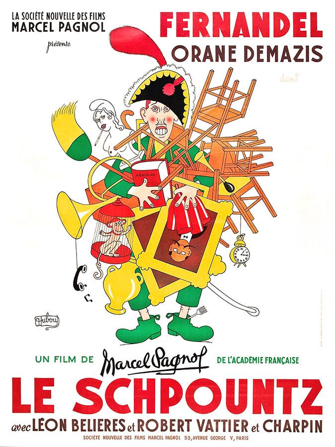 Le Schpountz (Marcel Pagnol, 1938)