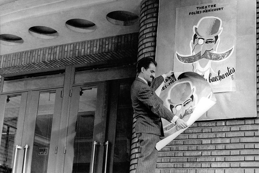 Louis de Funès dans Ah ! Les belles bacchantes (Jean Loubignac, 1954)
