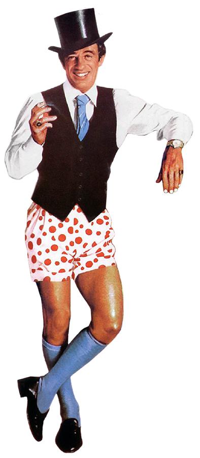 Le Guignolo (Georges Lautner, 1980) - détail de l'affiche