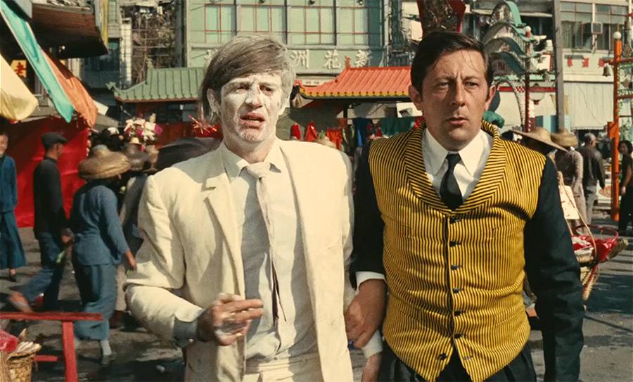 Jean-Paul Belmondo et Jean Rochefort dans Les Tribulations d'un Chinois en Chine (1965) - © TF1 DA