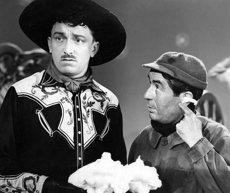 Robert Dhéry et Julien Carette dans Branquignol (1949) - DR