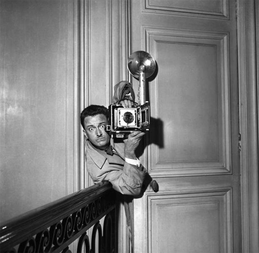 Robert Dhéry dans les années 1950 - © Quinio / Gamma-Rapho