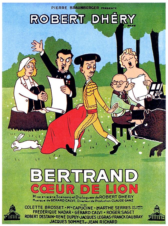Bertrand cœur de lion (Robert Dhéry, 1951)