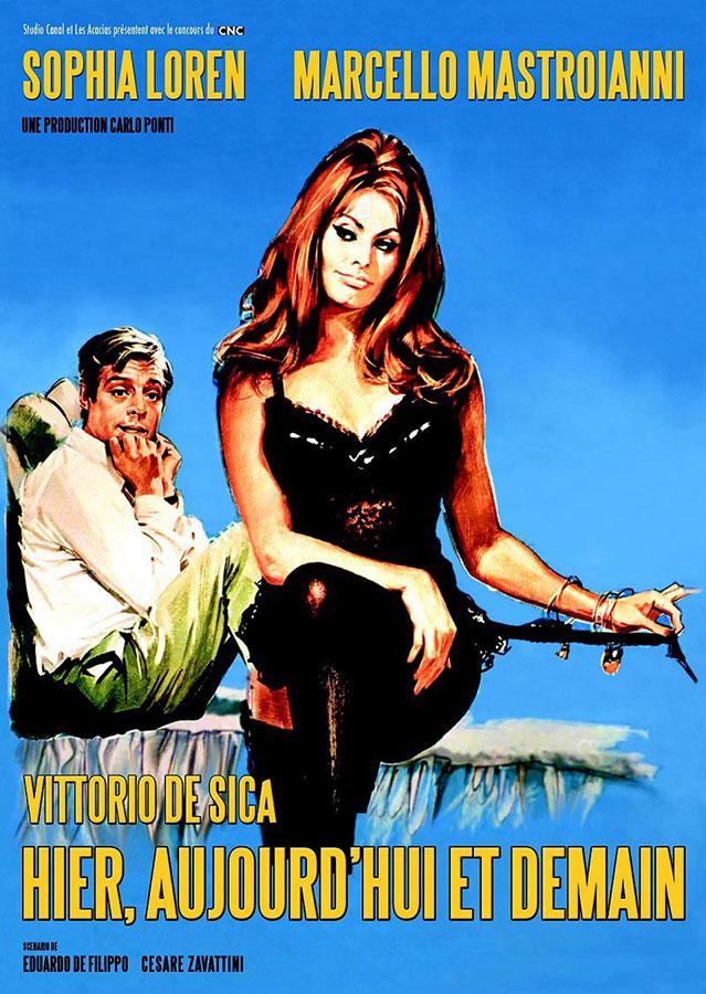 Hier, aujourd'hui et demain (Vittorio De Sica, 1963)